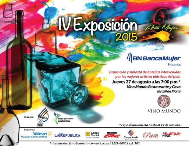 IV Exposicion Arte Mujer 2015